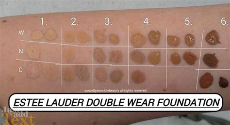 estee lauder foundation colors estee lauder wear foundation 6w1 search