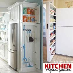 storage ideas for small kitchens 27 genius small space organization ideas