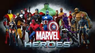 Marvel List Marvel Heroes Info