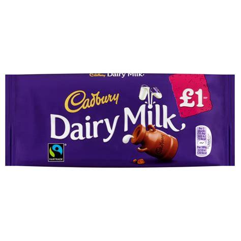 Cadburry Chocolate 3 In 1 cadbury dairy milk 163 1 chocolate bar 110g individual