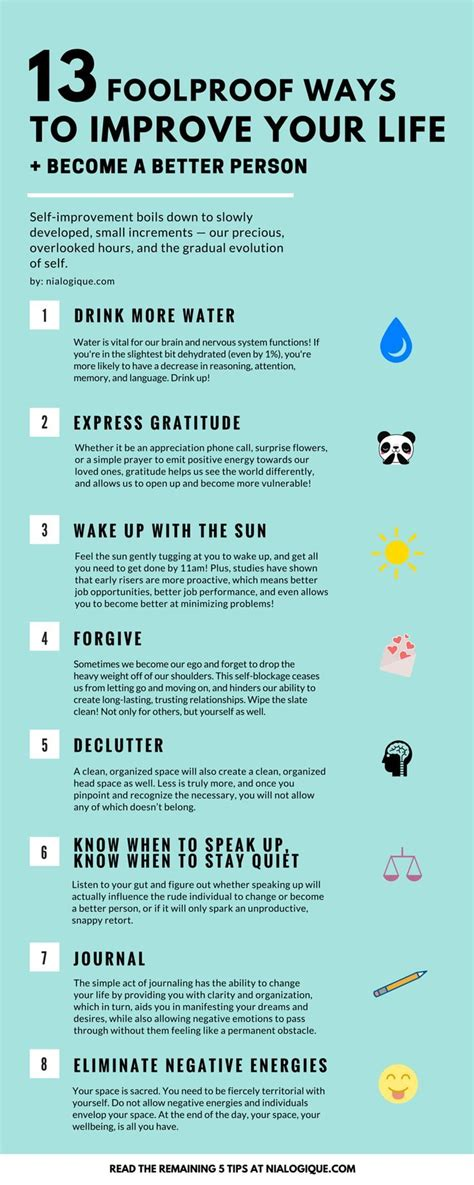 Ways To Improve Your Health Today by 1000 Self Motivation Quotes On Self