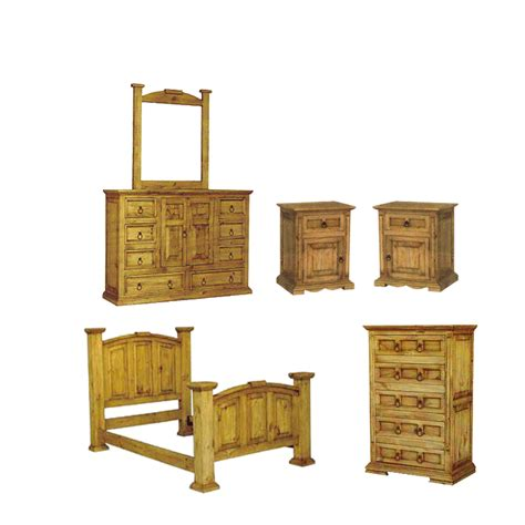 rustic bedroom set san carlos rustic pine bedroom set