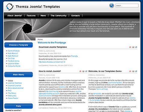 joomla templates 3 joomla vortex design gratuito per joomla 1 5 siti da