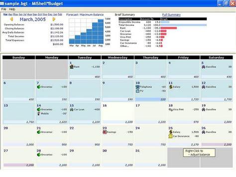 Calendrier Windows Budget Calendar Screenshot Windows 8 Downloads
