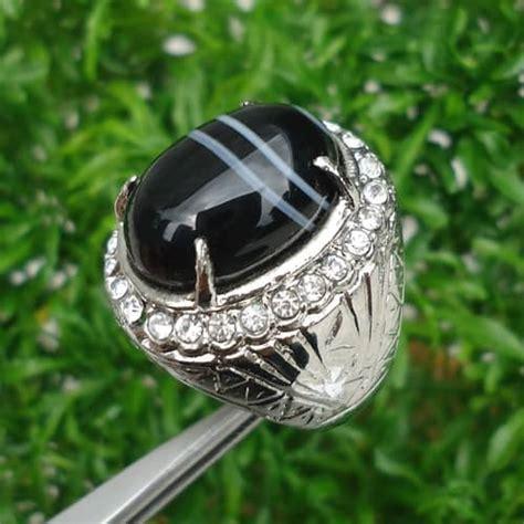 Cincin Batu Mustika Air 04 cincin batu khodam hitam pusaka dunia