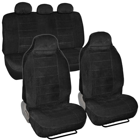 High Back Covers by Encore Seat Covers High Back Cover 7pc Black