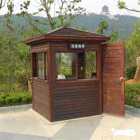 how to your to guard your house wooden made outdoor security guard house prefabricated portable booth guard house for
