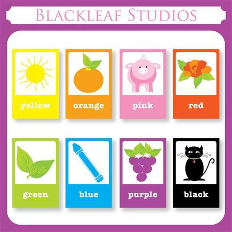 diy flash card template color flash cards diy printable for toddlers primary