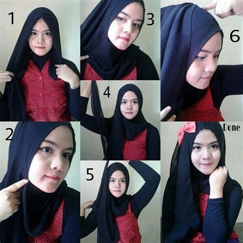 tutorial hijab pashmina modis tutorial hijab liburan segi empat search results