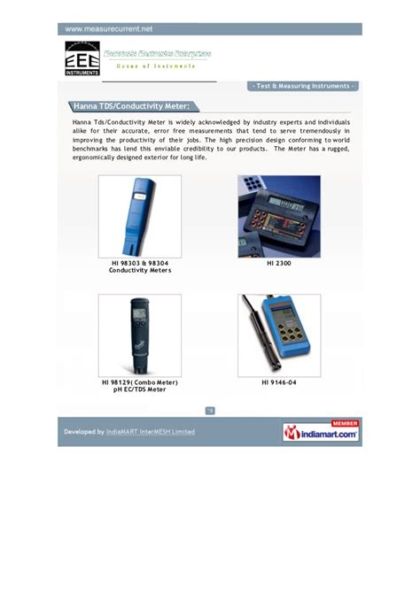 Promo Ph Meter Hi 98128 Water Resistant Accurate And Portable Azk electricals electronics enterprise chennai test measuring instrum