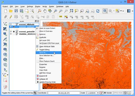 qgis hillshade tutorial 지형데이터 작업 qgis tutorials and tips