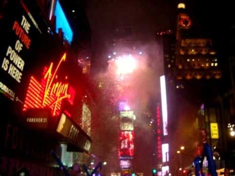 Watch Drop 2009 New York Sylvester 2009 To 2010 Ball Drop Times Square Youtube