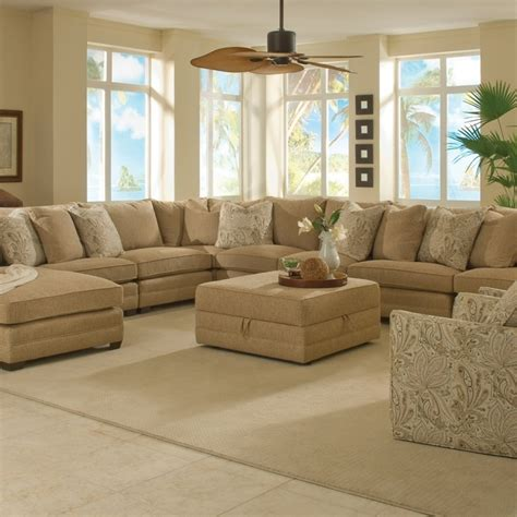 leather sectional with large ottoman extra large sectional sofas best sofas ideas