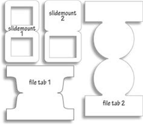 Dinglefoot S Scrapbooking Folder Tabs Template Hot Off The Press 4 99 Http Www File Folder Tabs Template Free