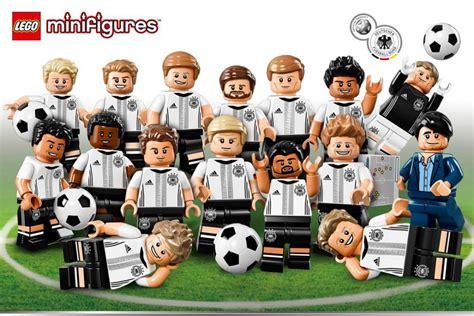 Lego Berkualitas Lego 71014 Lego Minifigures Dfb Se Murah les minifigures de l 233 quipe de la mannschaft 71014