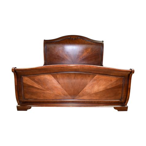 Sleigh Bed Frames King 58 Raymour Flanigan Raymour Flanigan Wood King Sleigh Bed Beds