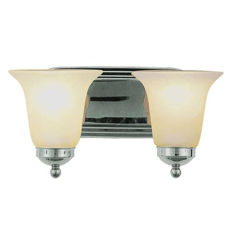 Bathroom Lighting Collections Bel Air Lighting Cabernet Collection 4 Light Polished Chrome Bath Bar Light 3004 Pc The Home Depot