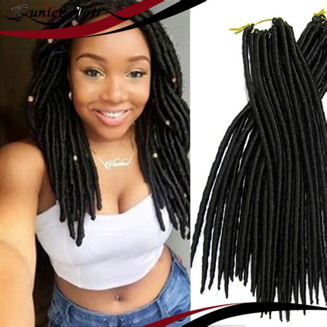 pictures of soft dread weavon promotion synthetic hair extension soft dread lock hair