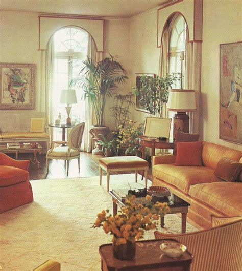 vintage home decorating 1960s 1960 s living areas