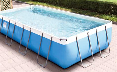 schwimmbecken zum aufstellen gewebebecken mypool