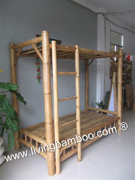 Bamboo Bunk Bed Bamboo Bed