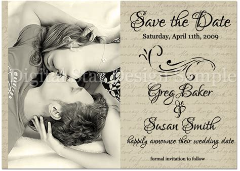 save the date wedding wording exles digital design announcements