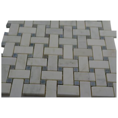 carrara marble basketweave tile 28 images carrara