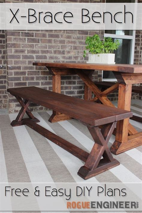 diy x bench 4016 best allstar woodworking diy build projects images