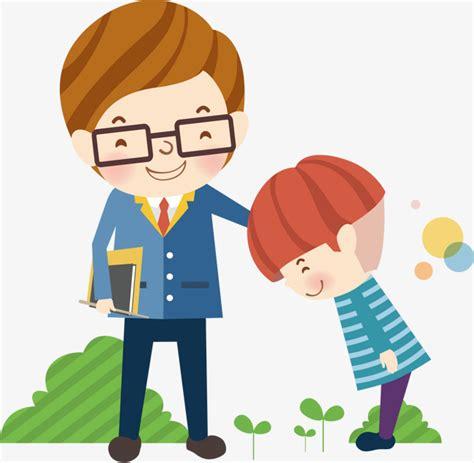 imagenes animadas de maestros y alumnos alumnos y profesores de la escuela ilustrador de los