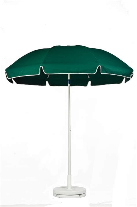 Patio Umbrella Pole Diameter 7 1 2 Diameter With Vent Valance Forest Green Patio Commercial Outdoor Umbrella Manual Lift