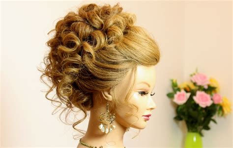 Wedding Hairstyles For Medium Hair Updo by Wedding Prom Updo Hairstyle For Medium Hair