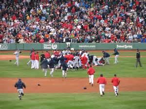 bench clearing brawl baseball file fenway brawl jpg wikimedia commons