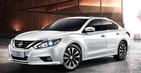 New Nissan Teana 2018 2018 2019 Nissan Teana Updated Sedan For China Cars