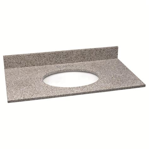 design house vanity top design house 31 in w granite vanity top in golden sand