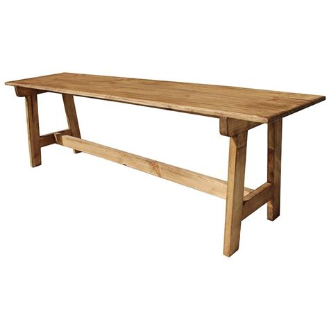 mexican benches rustic pine collection pilgrim bench ban47