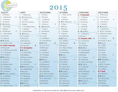 I Calendrier 2015 à Imprimer Calendrier 224 Imprimer 2015