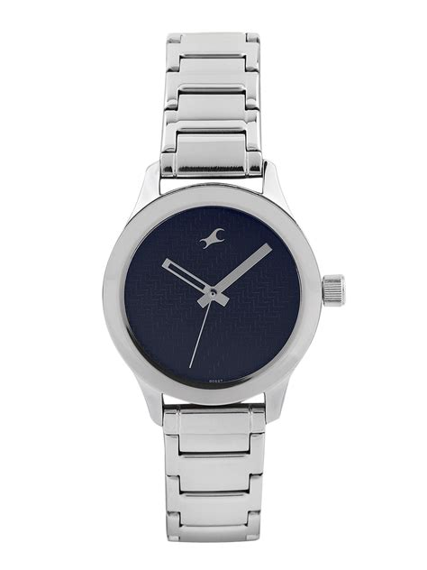 Sm Home Decor by Buy Fastrack Women Blue Dial Watch 6078sm03 Watches For