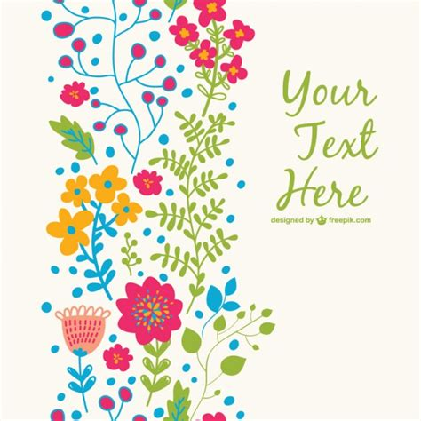 floral templates free floral free template vector free