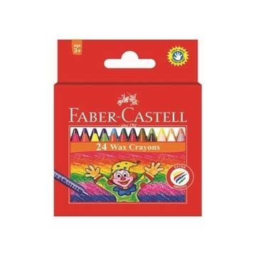 Wax Crayon Faber Castell 16 crayons hindustan trading company supply stationery