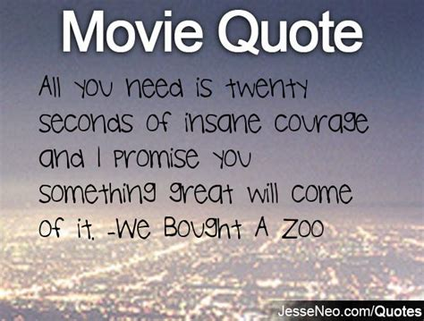 being and being bought we bought a zoo quotes quotesgram