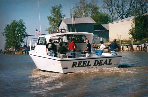 charter boat fishing toledo ohio the best in lake erie fishing charters