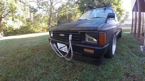 stanced trucks stanced mini truck 1985 toyota hilux