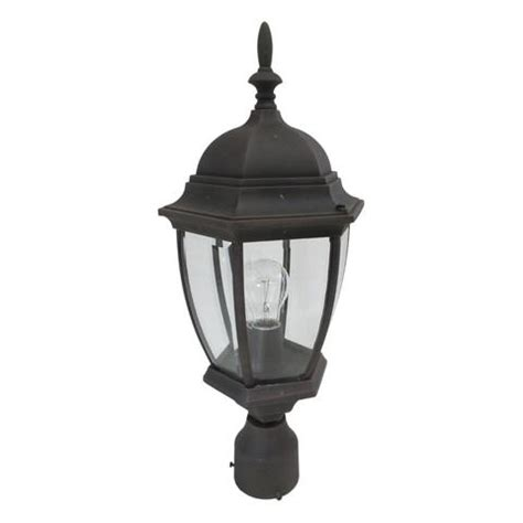 Agricultural Lighting Fixtures Designers Lighting 2436 Ag One Light Outdoor Exterior Post Lantern In Autumn Gold