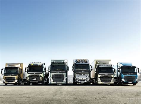 all truck volvo trucks has renewed its entire european truck range