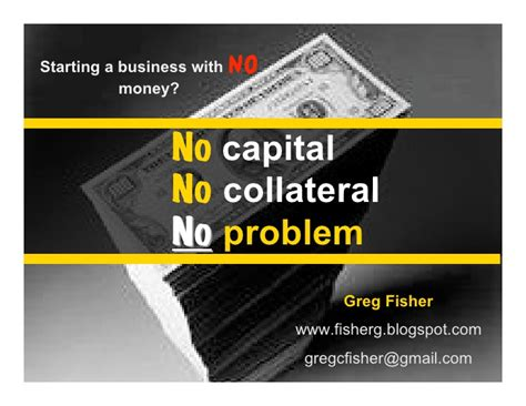 no money to start a business no problem try these 5 starting your business with no outside money no capital