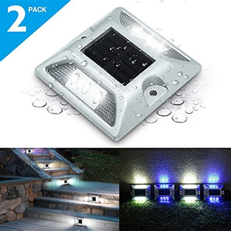 Prices For Flat Solar Dock Lights Thetiffanylighting Com Us Flat Solar Lights