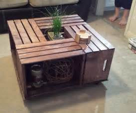 Apple Crate Coffee Table Crate Coffee Table