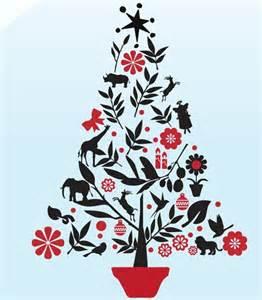 african christmas tree vinyl stickers