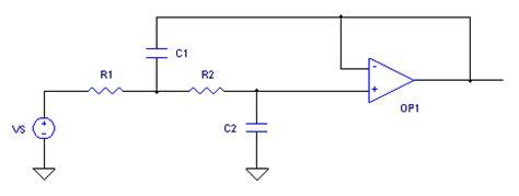sallen key low pass filter capacitor pronine electronics design sallen key active low pass filter calculator