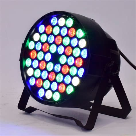 disco lights for home professional dj lighting led par 54x3w rgbw 4in1 par light
